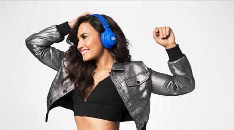 Demi Lovato är ny ambassadör för JBL