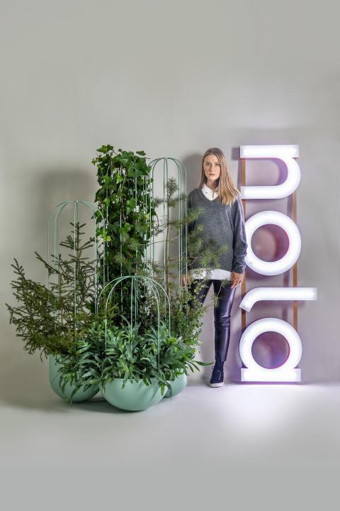 Cacti planteringskärl / planter, design Anki Gneib.