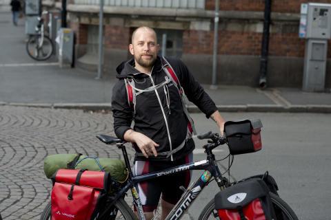 450 mil på cykel med epilepsi