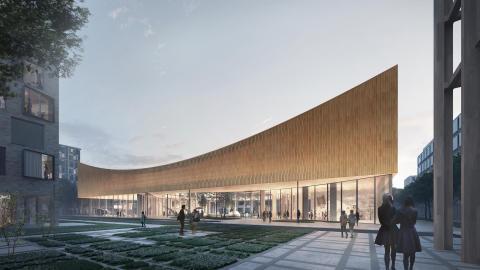 Botanisk skog och Lunds nya Science Center