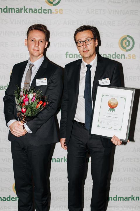 Andreas Rask och Tom Andersson, Case Kapitalförvaltning