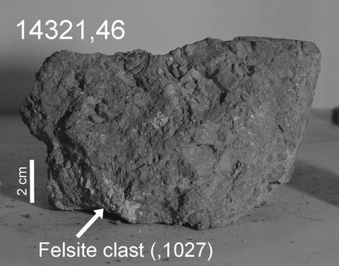 Jordens äldsta sten hittades på Månen