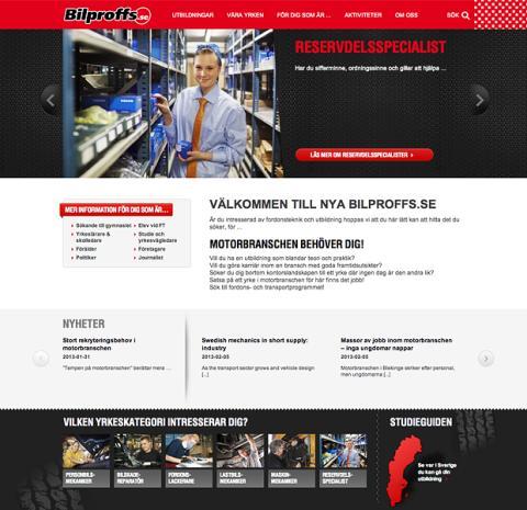 Avantime gör ny webbplats åt Bilproffs