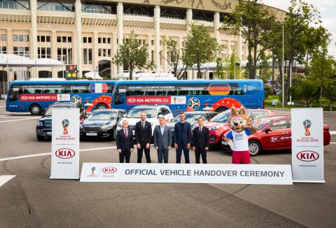 Kia Motors leverer biler til 2018 FIFA World Cup Russia™