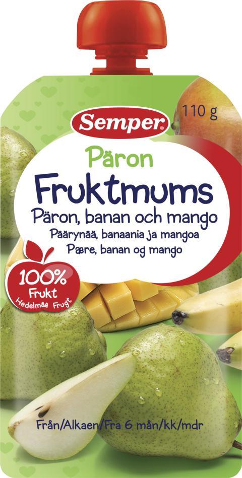 Fruktmums Päron
