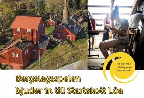 Bergslagsspelen bjuder in till Startskott Löa