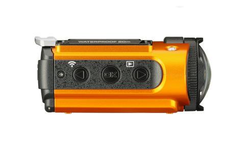 Ricoh WG-M2, oransje fra siden 2