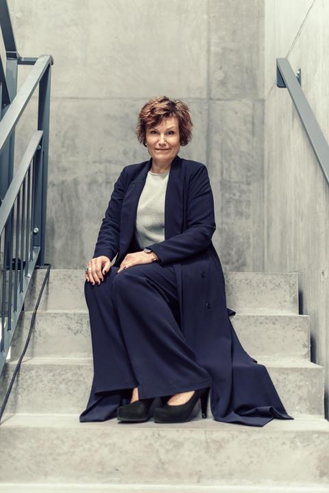 Lena Åberg Frisk - vd & konstnärligledare/CEO & artistic director UKK