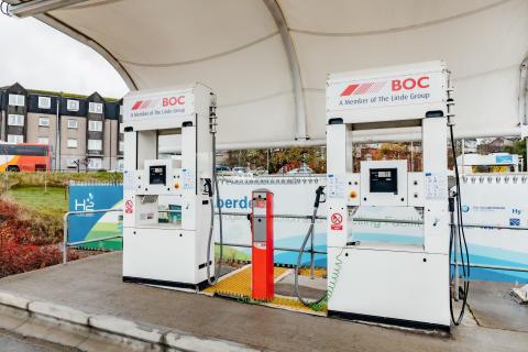 Wasserstoff-Tankstelle in Aberdeen