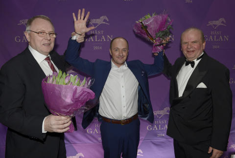 Robert Bergh dominerade Hästgalan 2014