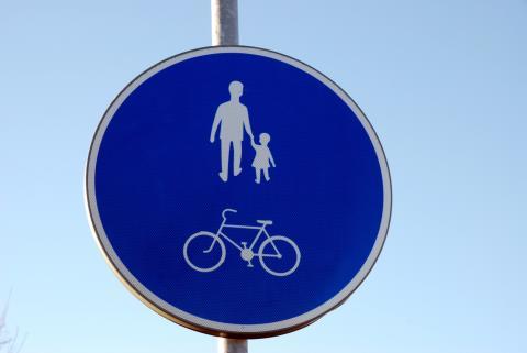 Invigning av ny gång- och cykelväg