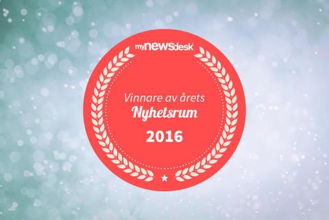 """Vinnare av Årets Nyhetsrum 2016 inom kategorin """"Industri & Energi"""""""