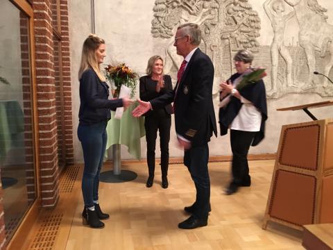 Halmstads kommuns pris för Bästa examensarbete 2016