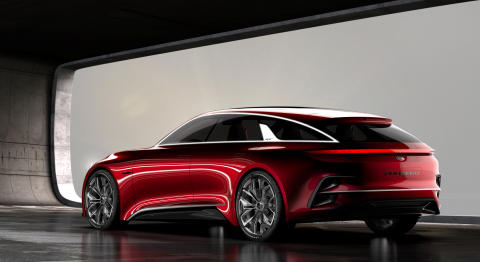 Kia Proceed konsept debuterer i Frankfurt