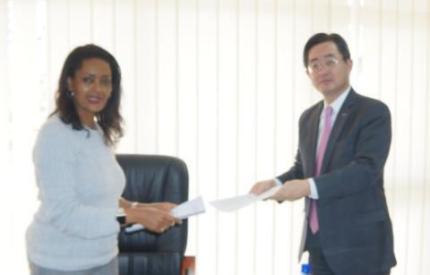 Toshiba concludes a memorandum of understanding with Ethiopian Electric Power on geothermal power generation
