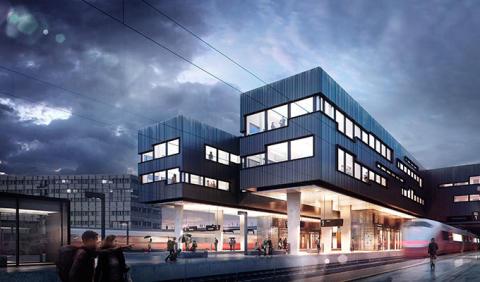 ROM Eiendom AS og Skanska Norge AS signerte totalentreprisekontrakt  om Trapphuset i Trondheim