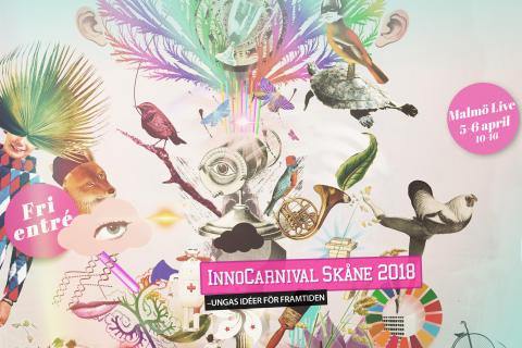 Pressinbjudan:  Skånes egen innovationskarneval på Malmö Live