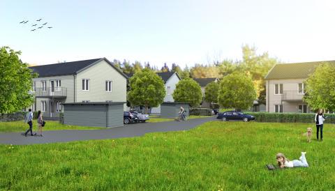 Byggstart för 20 nya bostäder i Trosa