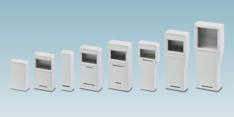 Handheld housings for mobile operator panels