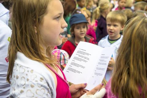 Singende Kinder © RTG, Duschner