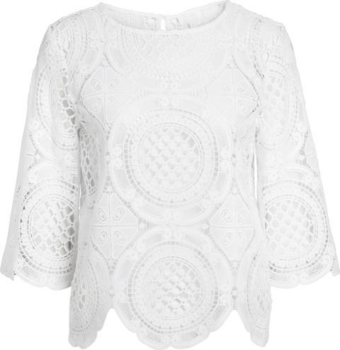 Vintage bluse fra kappAhl