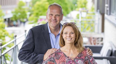 Anna Bromme & Mats Sandelius