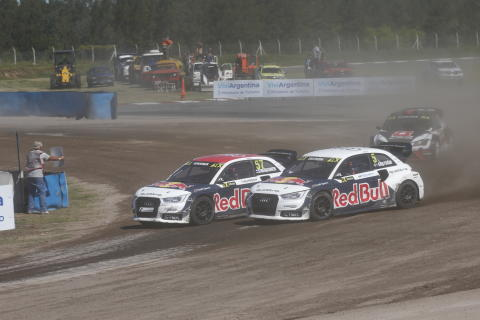 Mattias Ekström Team EKS