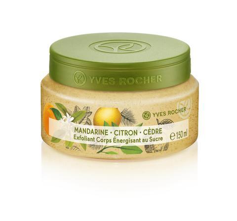Mandarin Lemon Cedar Energizing Sugar Body Scrub