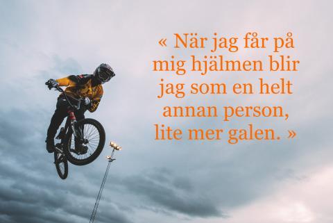 Med OS i sikte - Lars Ole Hetland har högt flygande planer.