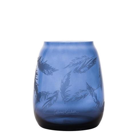 Produktbilde_blaa_200mm_Hadeland Glassverk Siccori Stille bevegelser Cathrine Knudsen