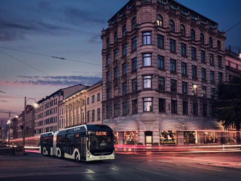 Framtidens Volvo-bussar ska byggas med hjälp av partners