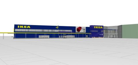 Bygglovsansökan för IKEA Umeå lämnas in idag