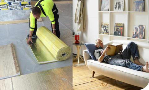 God rumsakustik för välmående och mer produktiva människor med weberfloor acoustic