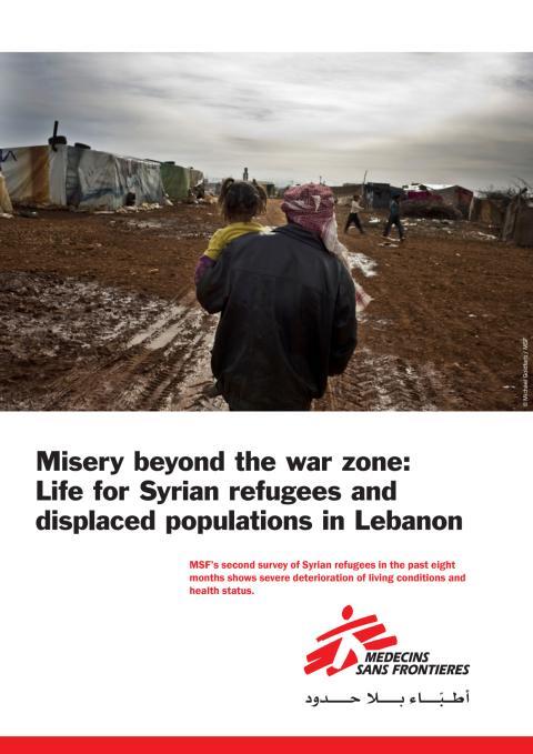 Misery behind the war zone - syriska flyktingar i Libanon