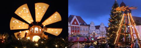 Adventsmagi i Mecklenburg-Vorpommerns städer