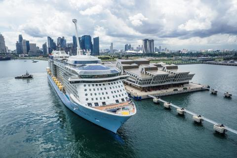 Royal Caribbean enters into five-year multi-million-dollar fly-cruise partnership with Singapore Tourism Board and Changi Airport Group