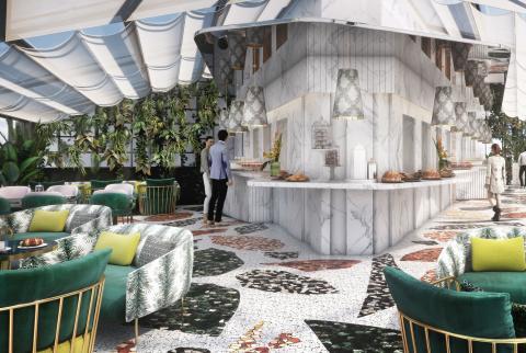 Italienisches Dolce Vita trifft auf modernes französisches Flair: Wiedereröffnung des Sofitel Rome Villa Borghese nach umfangreicher Umgestaltung durch Jean Philippe Nuel
