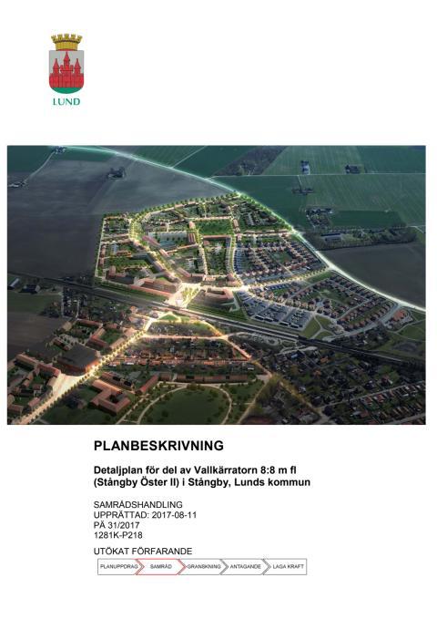 Planbeskrivning Stångby öster II