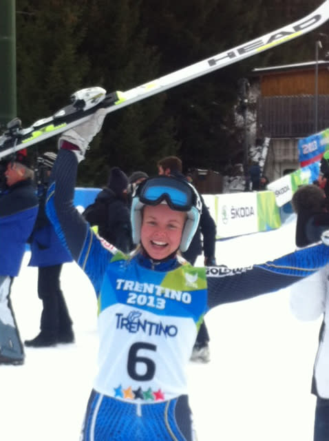 Veronica Smedh tog brons i storslalom i Universiaden