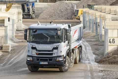 Der Scania XT - ein zuverlässiger Partner der Heinrich Feeß GmbH & Co. KG
