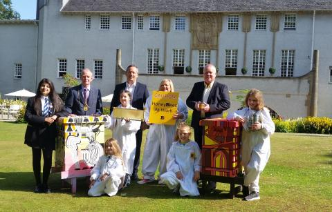 Young people help create Mackintosh buzz
