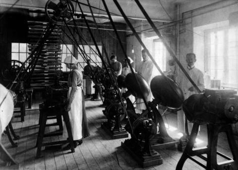 Tablettdragering 1915