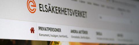 Elsäkerhetsverkets webbplats nominerad