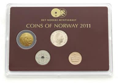 Norske mynter 2011