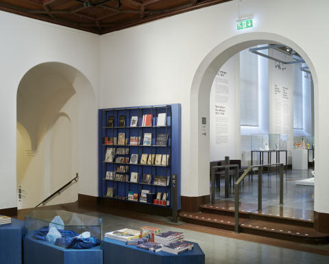 Röhsska museet, Foajé och butik med trapphiss