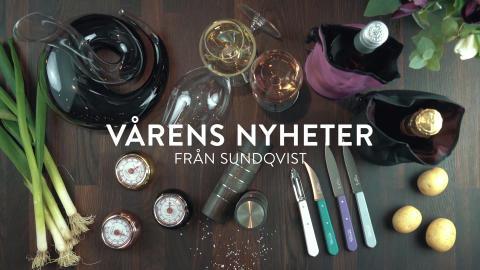 Vårens Nyheter från Sundqvist!