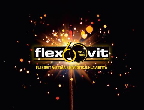 Flexovit viettää 60-vuotisjuhlavuottaan