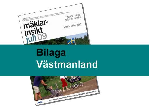 Västmanlands län: Stabil bostadsmarknad i Västmanland