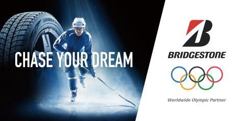 Bridgestone uppmärksammar nedräkningen till OS