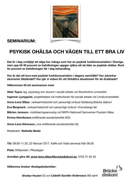 Hela inbjudan och vidare information